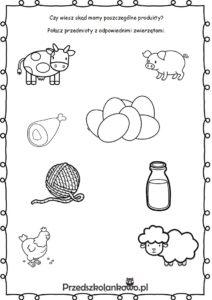 karta pracy zwierzęta