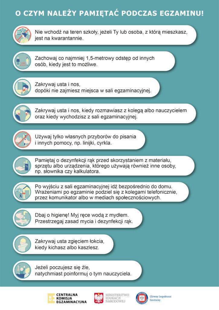 Wytyczne CKE MEN i GIS_plakat